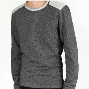 Tommy Bahama Gray Lounge Fleece Sweatshirt